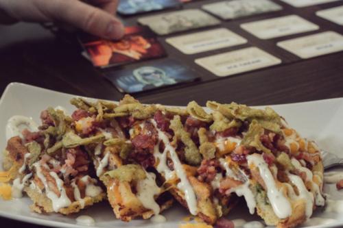Jalepeno Popper Waffle and Codenames